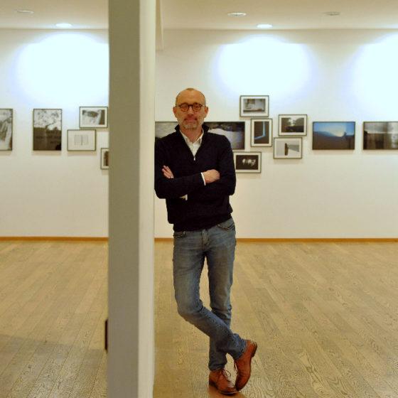 Damien Bouticourt à Maupetit, Côté Galerie le 14 février 2020 © Christophe Asso