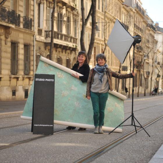 Clothilde Grandguillot et Hélène Bossy le 28 février 2020 © Christophe Asso