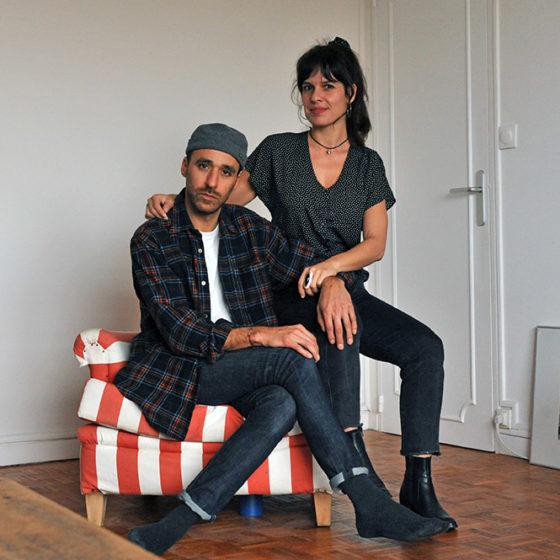 Chris Garvi et Pauline Alioua le 3 mars 2021 © Christophe Asso